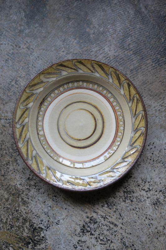 画像1: 小代焼ふもと窯 六寸皿