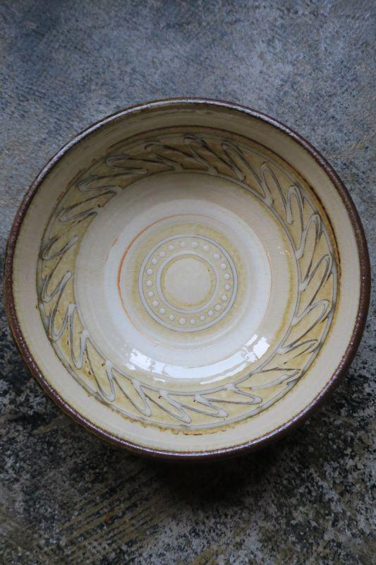 画像1: 小代焼ふもと窯 7寸鉢(2)