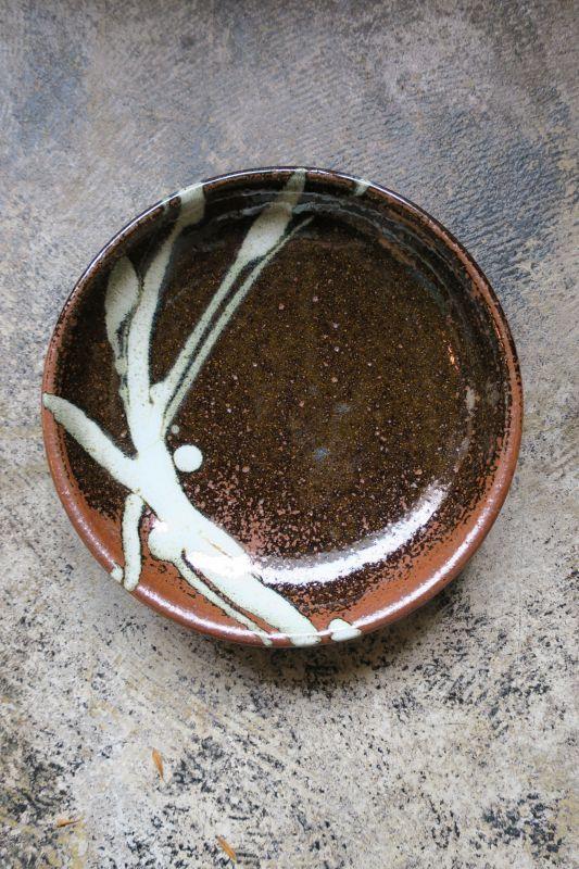 画像1: 小代焼ふもと窯 七寸皿(3)
