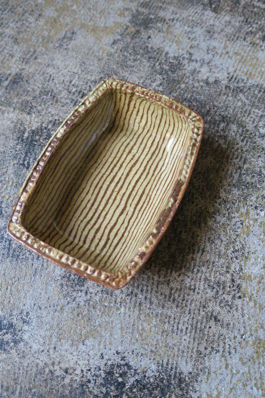 画像1: 掛谷康樹 練上手 長方鉢