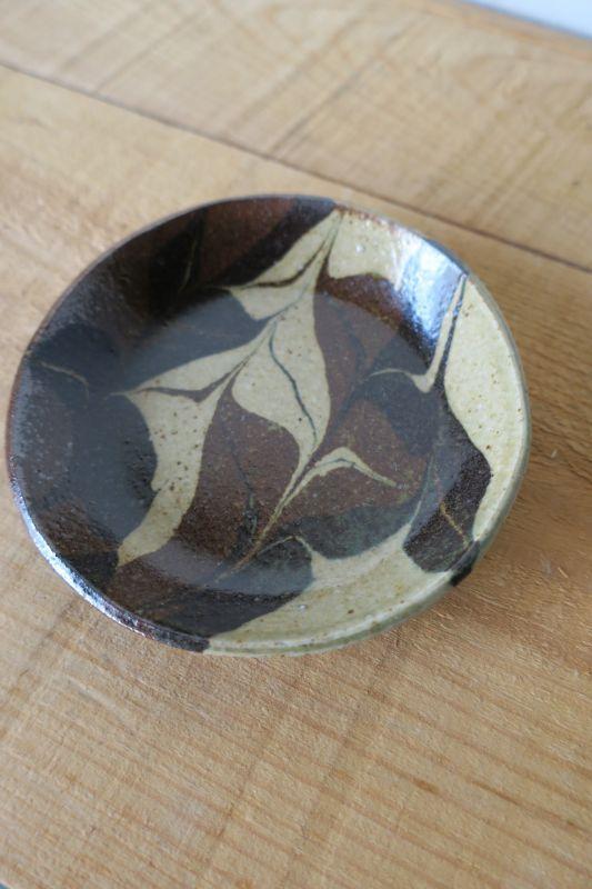 画像1: 掛谷康樹 練上手皿(4寸)