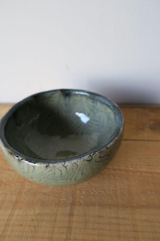 画像1: 掛谷康樹 練上手碗(5寸)